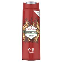 Гель для душа и шампунь 2в1 Old Spice Bearglove 400 мл.