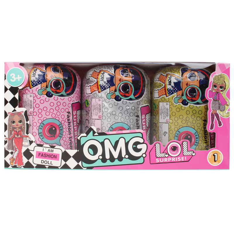 LOL SURPRISE  DIY Toy Dolls Action Figure Anime Model Puzzle Fashion Lol Dolls Blind Box Girl's Toy Gift