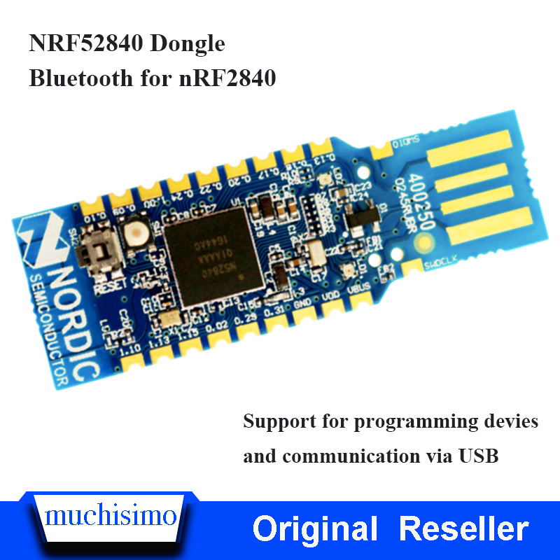 NRF52840 Dongle Nordic USB Dongle For Eval Bluetooth Grab Tool Module Support For Programming Devies  And Communication Via USB
