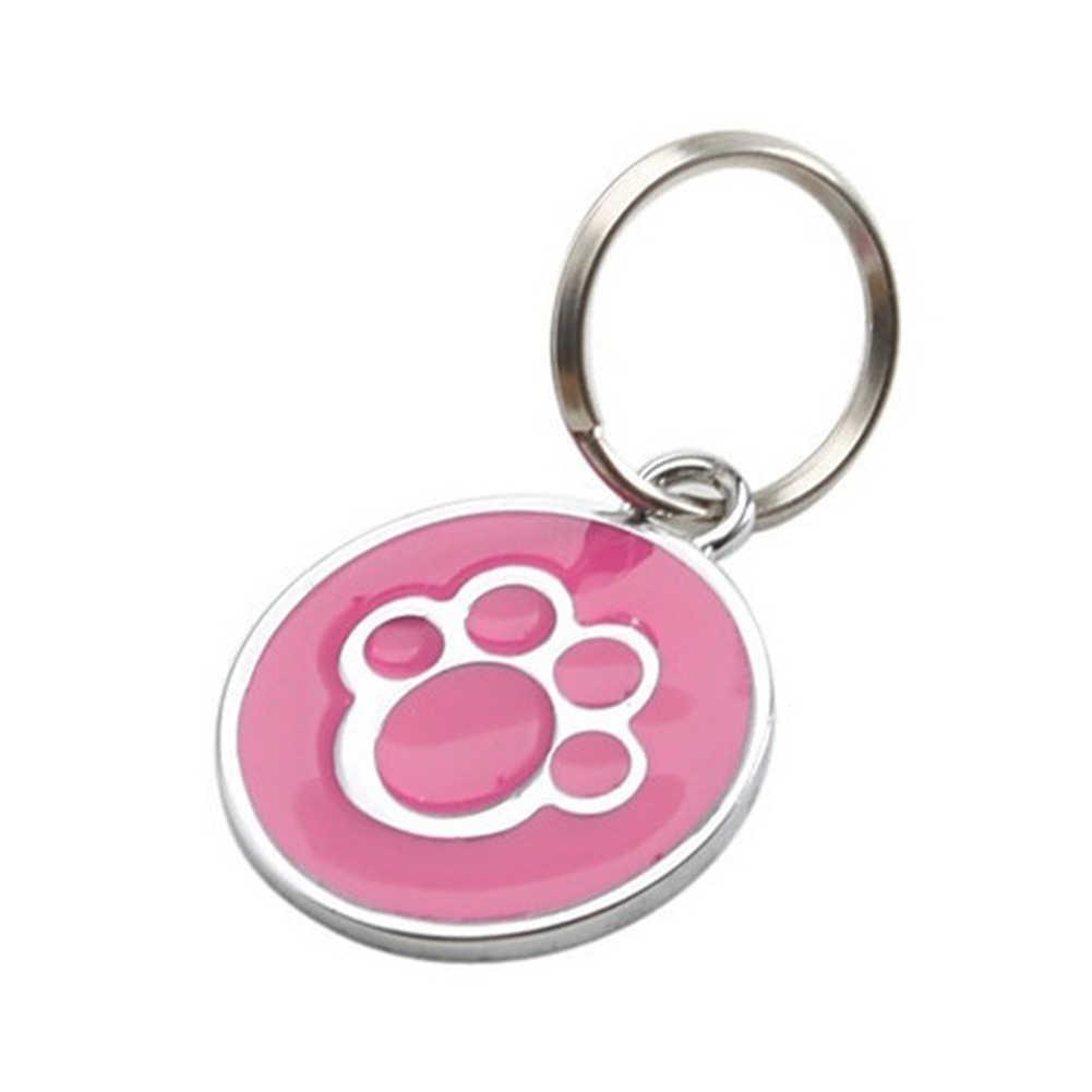 안티-분실 강아지 강아지 고양이 고리 ID 태그 펜던트 미니 발톱 인쇄 애완 동물 용품 2020
