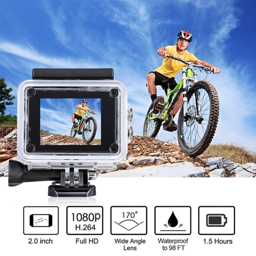 Hc4d1008e67244f7a97e5b3a6e26063db9 Pro Cam Sport Action Con Telecomando Camera 4k Videocamera Wifi Ultra Hd 16mp DVR Sports Outdoor Diving Bicycle Camcorder