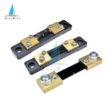 Shunt esterno FL-2 100A 50A 30A 20A 10A 75mV Misuratore di Corrente Shunt resistenza per Digital Voltmetro Amperometro Misuratore di Wattmetro