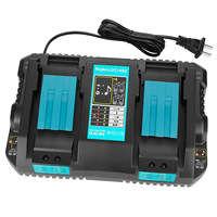Doppel Batterie Ladegerät Für Makita 4A Ladestrom 14,4 V 18V BL1830 BL1815 Bl1430 BL1420 DC18RC DC18RD DC18RA Power werkzeug
