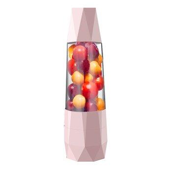 Portable Electric Fruit Juicer Machine Blender Smoothie Maker USB Rechargeable Multifunction Juicer Bottle 380ml smoothie maker blender shake slow juicer mini portable usb rechargeable electric fruit juicer machine