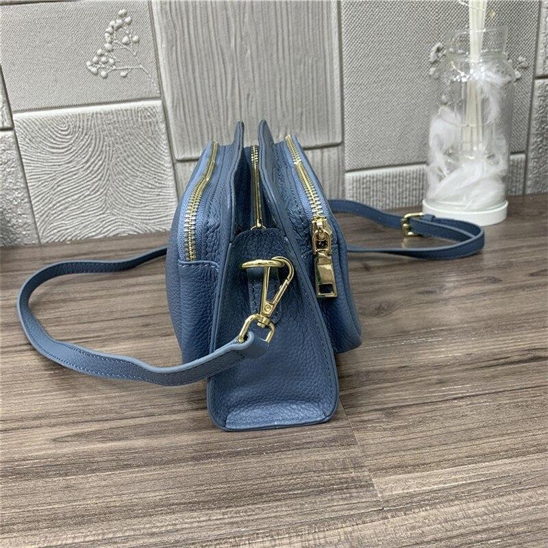 crossbody sacos azul escritório senhora cinto saco feminino