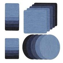 5 couleurs tissu fer sur patchs Appliques (avec colle arrière) coudières patchs réparation pantalon pour Jean vêtements et Jean pantalons vêtements