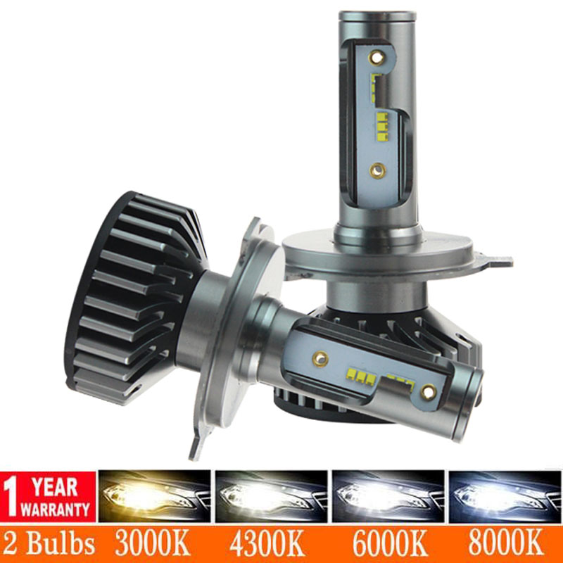 12000LM H11 H1 H4 H7 LED Canbus No Error Motorcycle Car Headlight Bulbs 80W 6000K 8000K 9005 9006 H8 Auto Fog Lights 12V