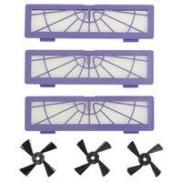 Filtro escova lateral para neato botvac 70e 75 80 85 d75 d85 robótico peças de reposição