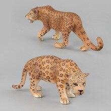 Модель кормящих животных, модель игрушки, леопардовая кукла, украшения, модель животного, бутик