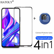 4in1 Protective Glass For Huawei Honor 9S Tempered Glass for Honor 9X X10 9C 9A Y6S Y9S P40 Lite E Camera Screen Protector