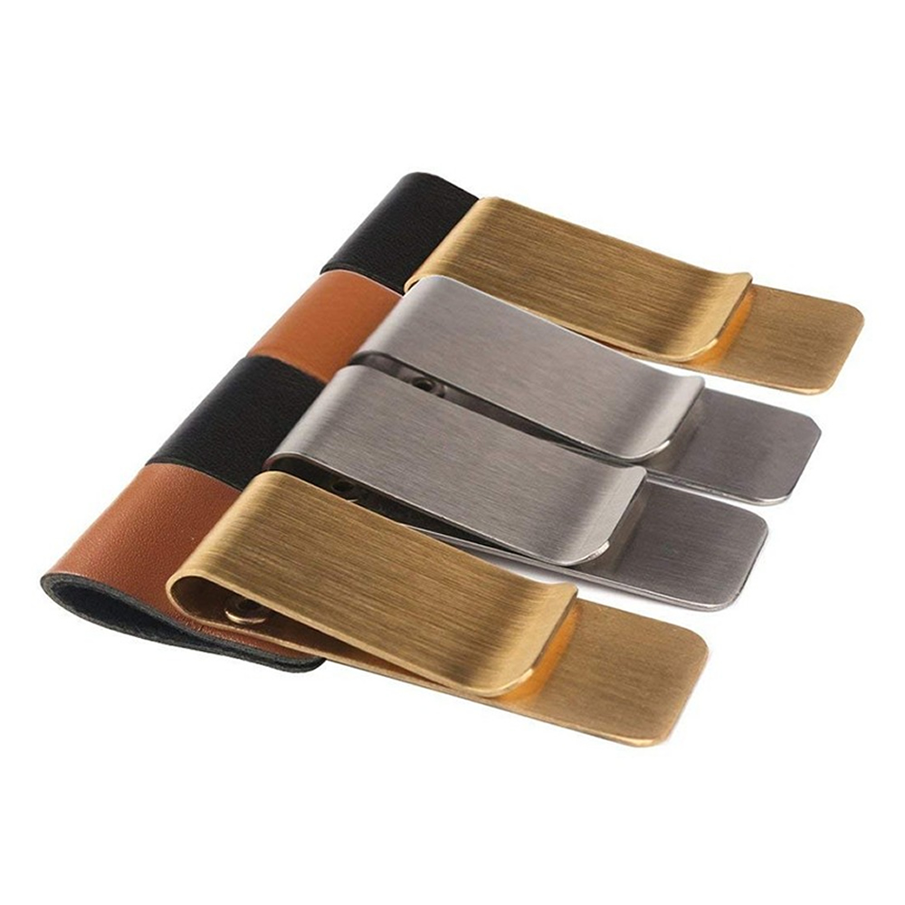 Pen Loop For Notebook Retro Leather Journal Notebook Pencil Holder Bookmark With Metal Clip