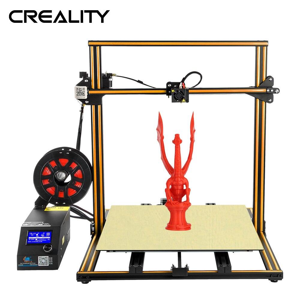 CR-10 S5 d'imprimante 3D de grande taille en métal avec le capteur de Filament de tige de Dua Z détectent la mise hors tension de reprise
