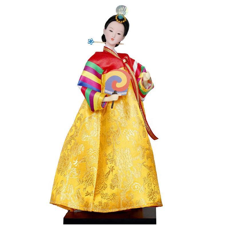 12inch Korea traditional Hanbok Model Figure 13