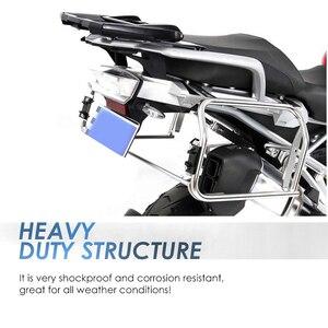 Image 4 - Per R1250GS R1200GS LC ADV Borse Laterali Rack In Acciaio Inox Per BMW R 1250 GS R 1200 GS ADV Top Case rack
