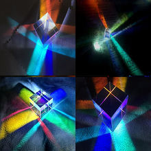 Шестигранный яркий светильник prism комбинированный кубическая