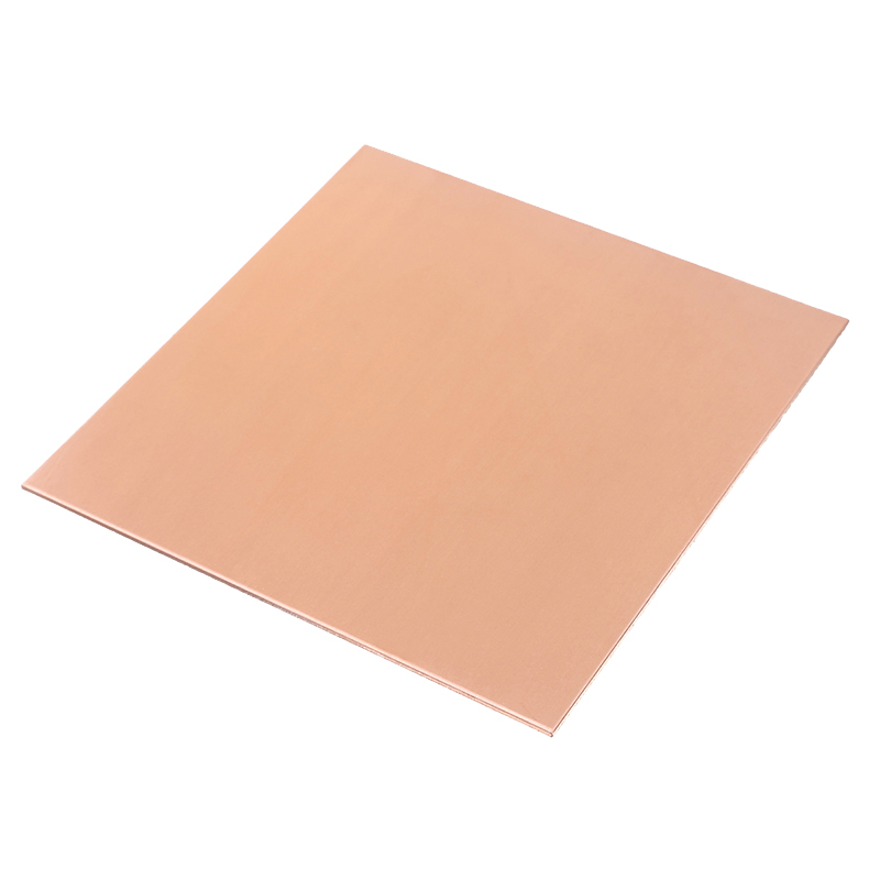 1Pcs 1mm Thickness 99.9% Pure High Purity Copper Cu Metal Sheet Plate 100 X 100mm With Corrosion Resistance For Industry Tools