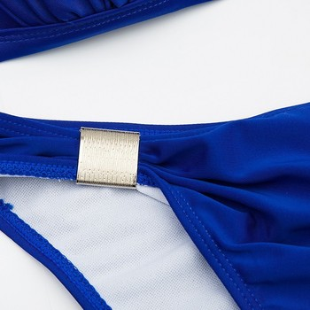Minimalism Le Sexy Halter Top Bikini 2020 Women Swimwear Bathing Suits Push Up Swimsuit Bikini Set Maillot De Bain Biquini 4