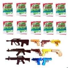 800pcs/10 bags 6mm Medium Stiff Bb Gun Paintball Toy Pistol Sniper Bullets Ball Kids Toy