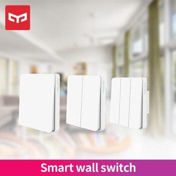 Yeelight Slisaon Switch Wall Switch Smart Self-Rebound Open Dual Control 2 Modes Over Intelligent Lamp Light Switch