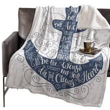 BIGHOUSES пледы одеяло якорь искусство одеяло s Флисовое одеяло s зимнее одеяло одеяла на заказ постельное белье