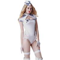 Women Sexy Lingerie Cosplay Costumes Air Hostess Sexy Airline Stewardess Uniform Attendant Role Play Outfit