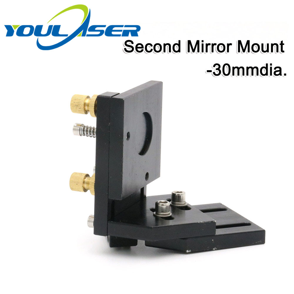 Co2 Laser Second Reflection Mirror Mount Support  For Co2 Laser Mirrors 30mm