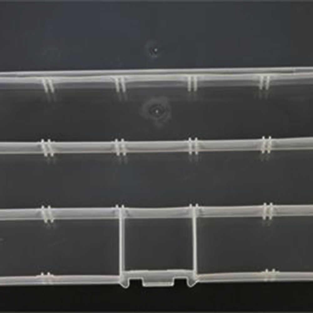 ร้อน! 15 ช่องใส่กล่องพลาสติกหน้าแรก Organizer ต่างหูเครื่องประดับมาถึง