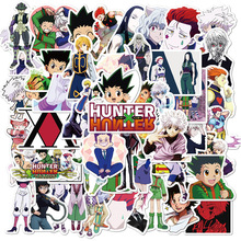 10/50cs/lot HUNTER X HUNTER Anime Stickers Waterproof PVC Decal for Car Laptop Suitcase Skateboard Motorcycle for KIDS