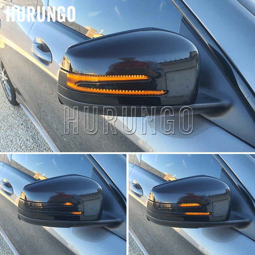 Динамический указатель поворота зеркало заднего вида Индикатор Blinker светильник для Mercedes Benz A B C E S CLA GLA CLS W176 W246 W204 W212 X156
