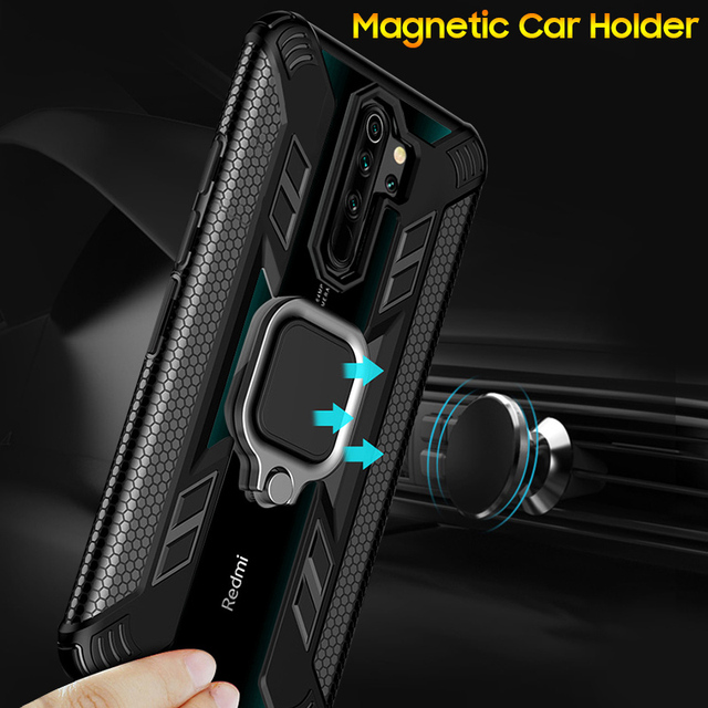 KEYSION Shockproof Case for Redmi Note 8 Pro 8T 9S 9 Pro Max 7 K30 K20 Phone Cover for Xiaomi Mi 10 9T 9 Lite A3 X3 NFC F2 Pro 4
