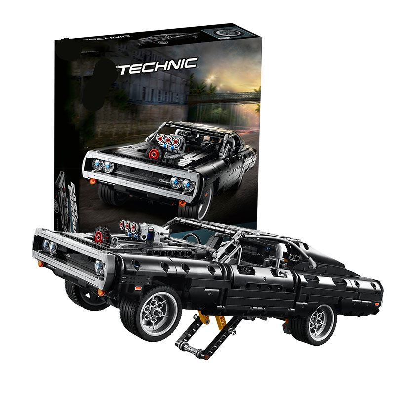 in stock Compatible 42111 Technic Dodged Charger Building Blocks Creator Expert Bricks Set Children Kids Models Toys Gifts 1