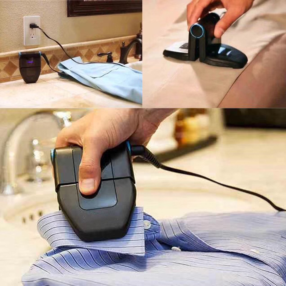 Folding  Iron Compact Touchup And Perfect Foldable Travel Iron Fordable Portable Mini Iron For Collar Dropshipping