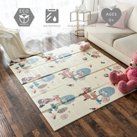 Baby Play Mat Foldable XPE Foam Puzzle Playing Carpet Puzzle Floor Mat Kids Activity Carpet Crawling Mats 1CM Thickness Playmat