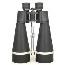 강력한 20x80 쌍안 망원경 삼림 관리관 블랙 hd 방수 lll 나이트 비전 bak4 야외 캠핑 달 관찰 쌍안경