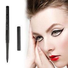 1 adet siyah su geçirmez rotasyon Eyeliner göz farı kalem seti doğal moda uzun ömürlü makyaj kalemi yeni tüm insanlar için TSLM1