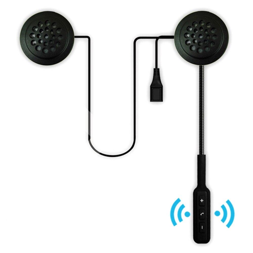Motorcycle Helmet Earphone Wireless Bluetooth Moto Headset Headphone Speaker Handsfree Music For MP3 MP4 Smartphone