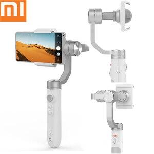Xiaomi Mijia 3 Axis ręczny stabilizator Gimbal 5000mAh bateria oryginalny Smartphone Gimbal do kamery akcji i telefonu