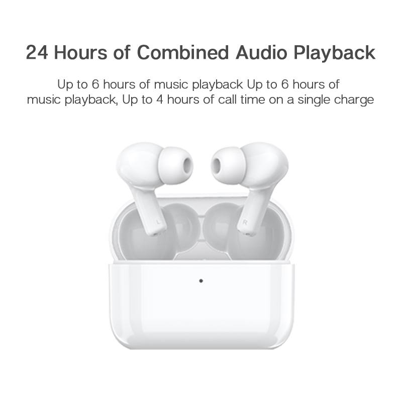 Honor Choice True Wireless Earbuds TWS Wireless Bluetooth Earphone Noise Cancellation Dual Microphone 24 Hours Playback