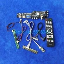USB+VGA+AV 1920*1080 LVDS-30Pin signal digital LCD screen drive board kit DVB WLDE For M240HW01/M240HW02/M240Q004/M240Q005