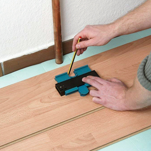Image 4 - Vastar 5 inch Plastic Gauge Contour Profile Copy Gauge Duplicator Standard Width Wood Marking Tool Tiling Laminate Tiles General