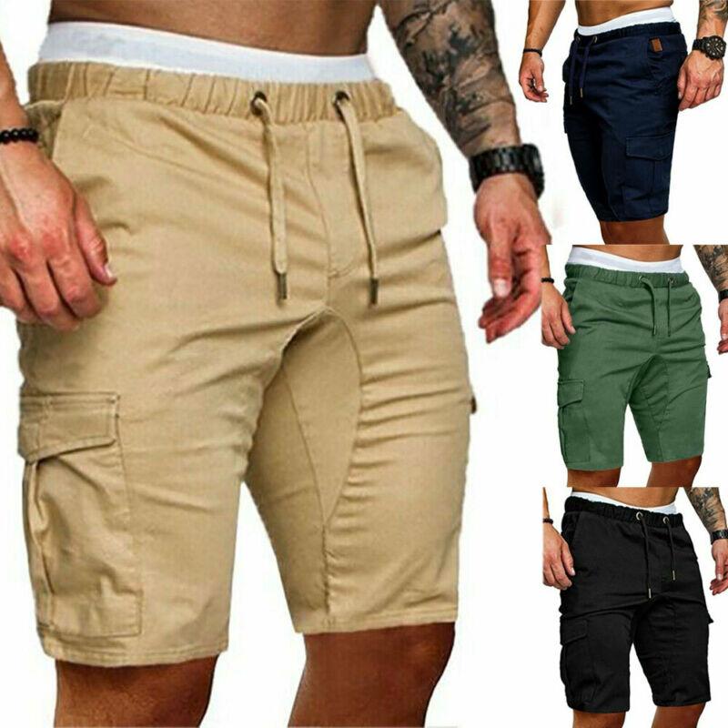 Di modo degli uomini Alla Moda di Estate shorts Da Lavoro Sport casual Dell'esercito di Combattimento Cargo Pantaloni Corti