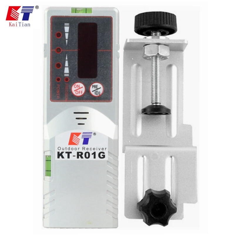 KaiTian Laser Receiver for Green Red 12 Lines Self-Leveling Nivel Laser Level 5 Linha with Precision Detect 3D Lasers Signal 50M