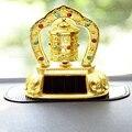 Бамбуковый древесный уголь автомобильный орнамент Творческий солнечной энергии тибетско-буддистские молитва колеса религиозных Резина с ...