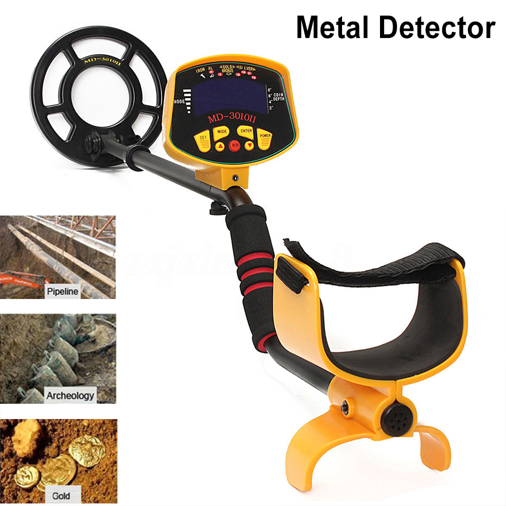 Outdoor Smart Underground Metal Detector Gold Digger Treasure Hunter Tracker MD 3010II LCD Display Safety Metal Detector