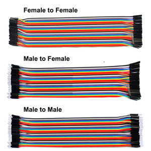 Dupont Jumper Wire 10CM 20CM 30CM Male to Male + Female to Male + Female to Female Jumper Wire Dupont Cable For PCB Diy Kit