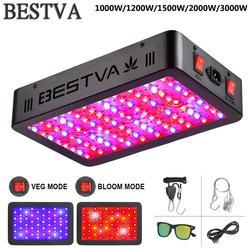 BestVA LED تنمو ضوء 600 واط/1000 واط/1200 واط/1500 واط/2000 واط/3000 واط الطيف الكامل ل داخلي خيمة الزراعة الدفيئة فيتو مصباح للنباتات