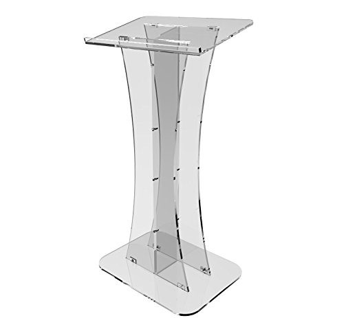 Fixture Displays Plexiglass Acrylic Podium Clear Lectern Church Pulpit Plexiglass