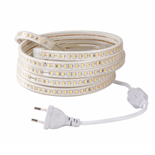 Led Strip 5630 120LED/M 220V Waterproof EU Plug SMD 5730 Flexible LED Tape Ribbon Indoor Outdoor 1M 2M 3M 4M 5M 6M 8M 9M 10M 10pcs lots 3 pin dmx signal line 1m 2m 3m 4m 5m 6m 7m 8m 9m 10m led par stage lights dmx cable dj equipment 100% new