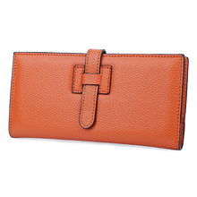 2019 Hot selling Long Women Wallets Soft Leather Card Wallets Large Capacity Female Clutch Wallet Famous Brand Coin Purses стоимость