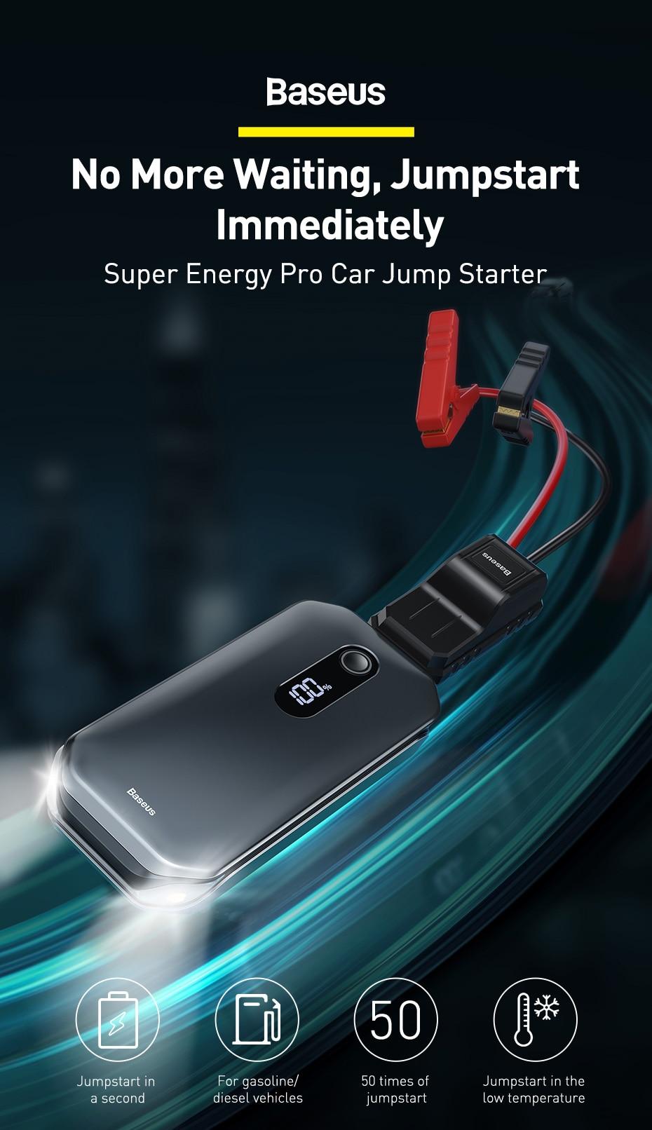 Baseus Super Energy Pro Car Jump Starter 4